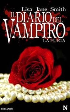 La copertina de Il Diario Del vampiro. La Furia